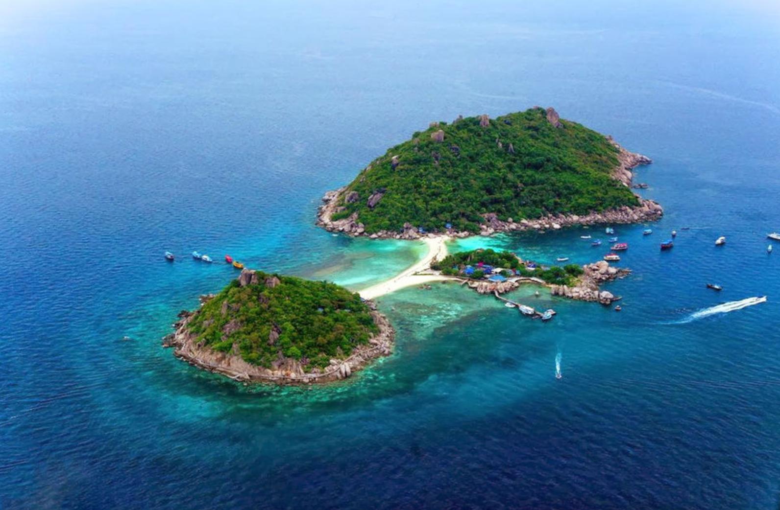 Koh Nang Yuan Romantic Getaway