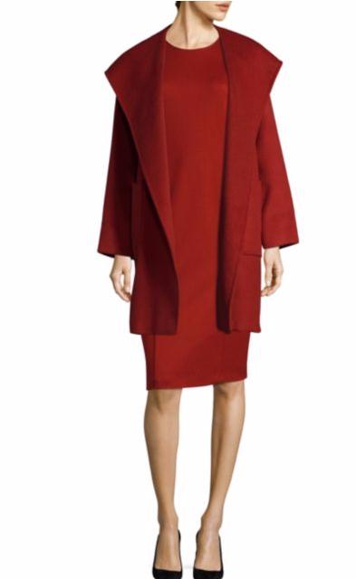 Max Mara Ronchi Wool Dress