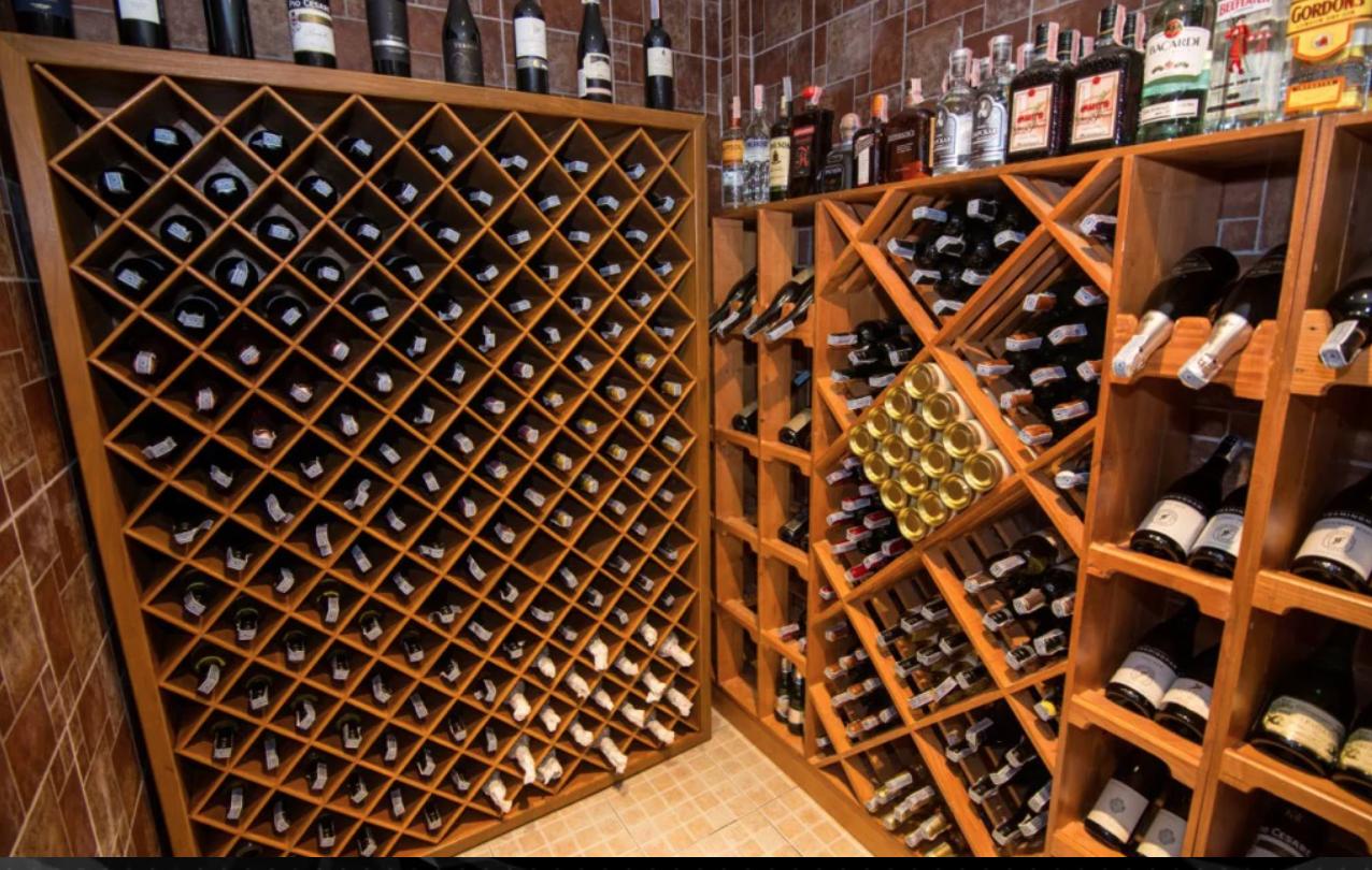 Cafe Des Amis' Wine Cellar
