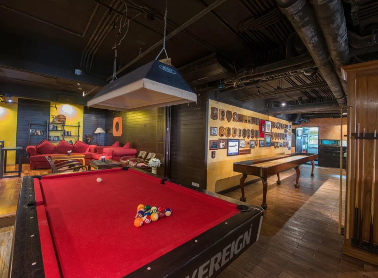 Billiards and Board Games